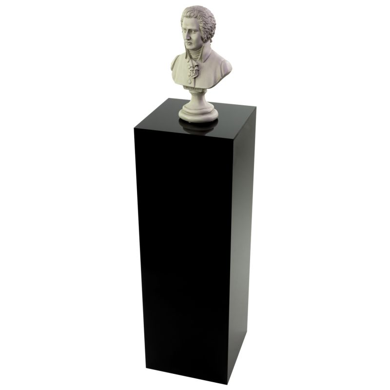 Sculpture on acrylic display pedestal