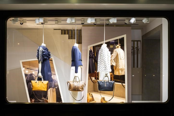 Creative retail display aesthetic