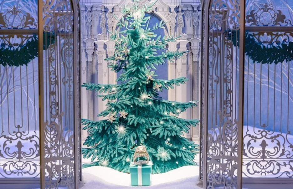 Tiffany and Co Holiday Window Display