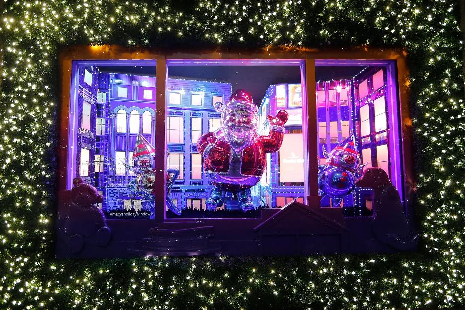 Macy's Holiday Window Display