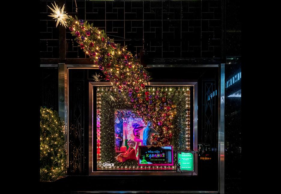 Bloomingdales Holiday Window Display