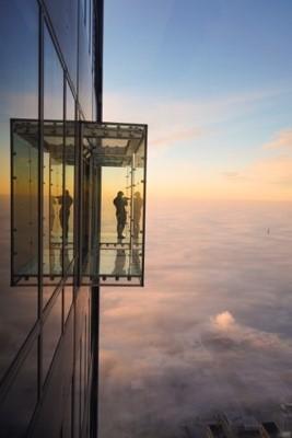 wonder image building clouds