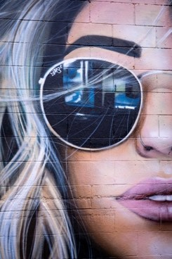 mural coffee shop art