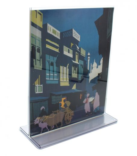 55x85 Top Loading Double Sided Acrylic Sign Holder Buy Acrylic