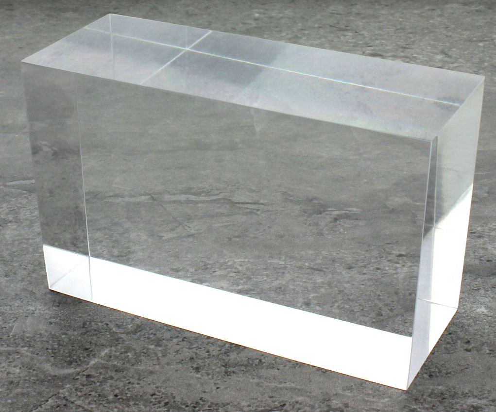 Solid Clear Acrylic Block 3 Quot X 3 Quot X 6 Quot Buy Acrylic