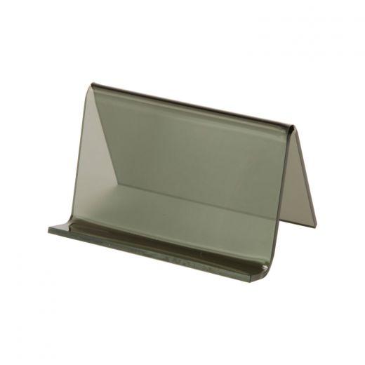 Acrylic business card holder smoke buy acrylic displays shop acrylic business card holder smoke colourmoves