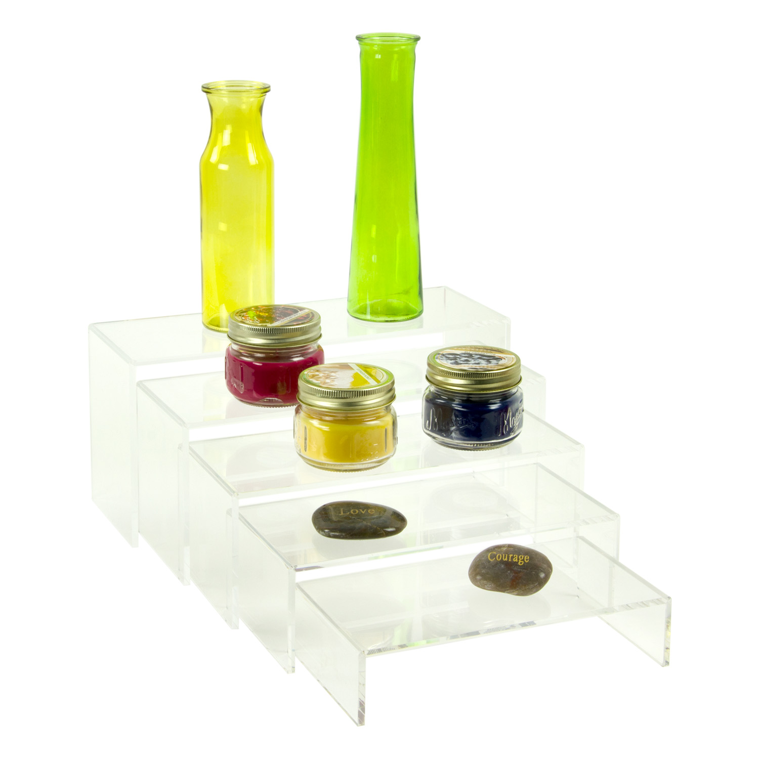 Acrylic U Risers Set Of 5