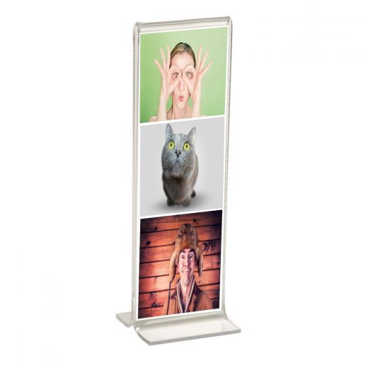 2x6 T-Shaped Acrylic Photo Booth Frame - Buy Acrylic Displays | Shop ...