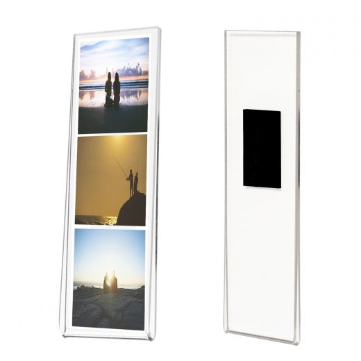 2x6 Magnetic Photo Booth Acrylic Frame Buy Acrylic Displays Shop