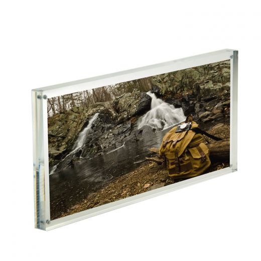 Magnetic Acrylic Photo Booth Frame 6 X 14 Buy Acrylic Displays