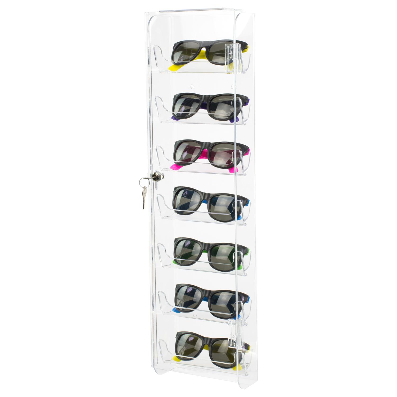 Acrylic Wall Mount Locking Sunglasses Display Buy