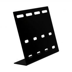 'Black Neck Tie Display Stand' from the web at 'http://www.shoppopdisplays.com/mm5/graphics/00000001/10911BK_1_245x245.jpg'