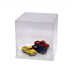 """'Acrylic Display Box 10"""" x 10"""" x 10"""" with White Base' from the web at 'http://www.shoppopdisplays.com/mm5/graphics/00000001/10x10x10_WhiteBase_2_245x245.jpg'"""