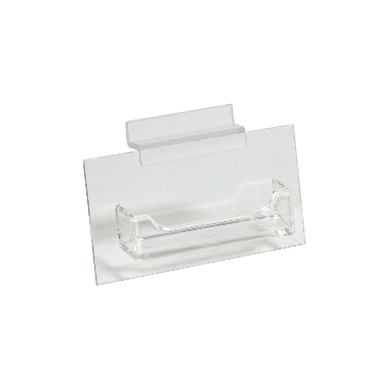 Single Pocket Slatwall Business Card Holder Buy Acrylic