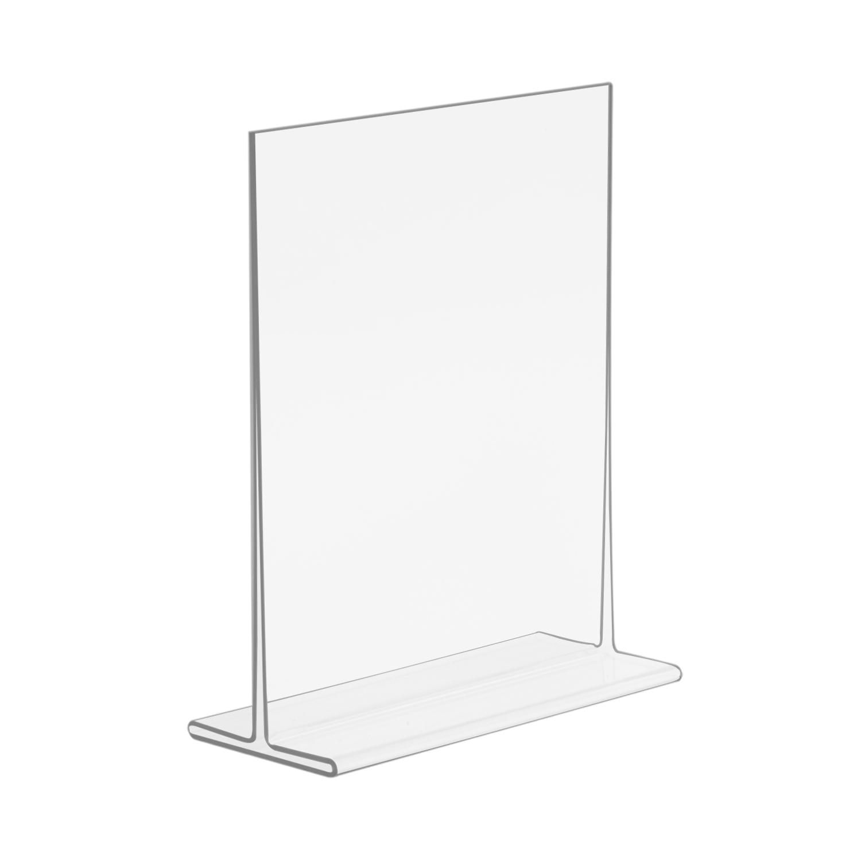 5x7 Top Loading Economy Plastic Sign Holder Buy Acrylic