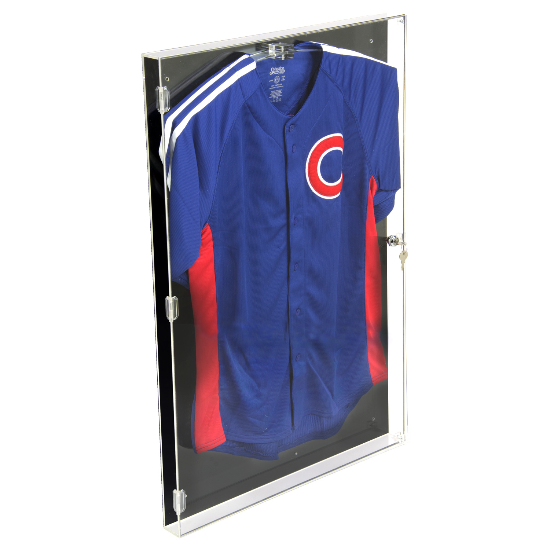 Acrylic Jersey Display Case With Black Back Buy Acrylic