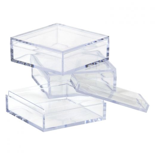 Clear Plastic Storage Box Mini Organizer  sc 1 st  shopPOPdisplays & Clear Plastic Storage Box Mini Organizer - Buy Acrylic Displays ...