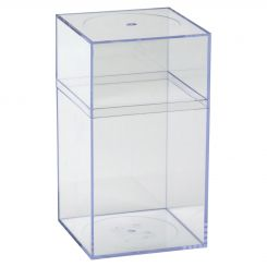 Clear Plastic Storage Box - Large  sc 1 st  shopPOPdisplays & Acrylic Boxes With Covered u0026 Pull Off Lids Available Online Aboutintivar.Com
