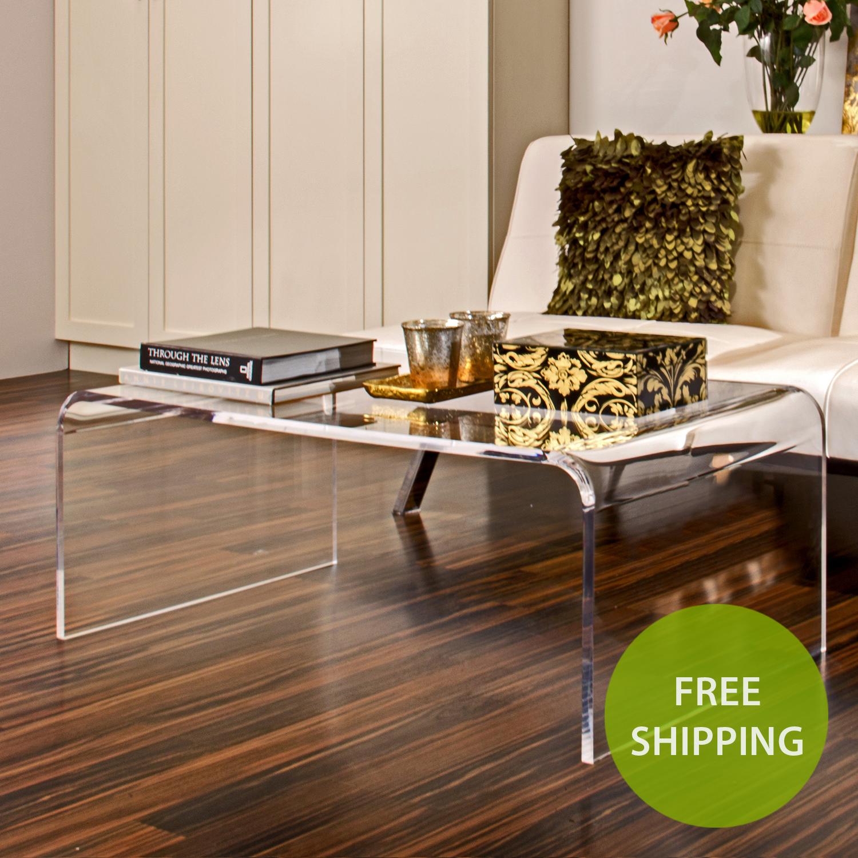 Large Acrylic Coffee Table - Buy Acrylic Displays