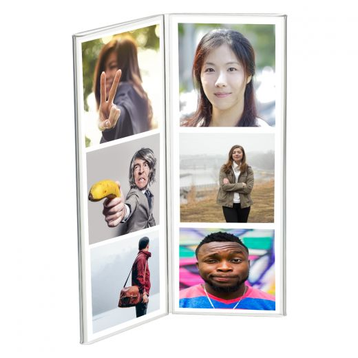 2 Panel Double Sided Photo Booth Frame - Buy Acrylic Displays | Shop ...