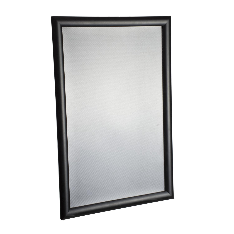 11 x 17 snap frame black buy acrylic displays shop acrylic pop displays online. Black Bedroom Furniture Sets. Home Design Ideas