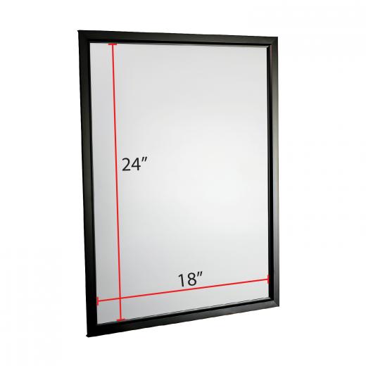 18 x 24 Slide-in Poster Frame - Black - Buy Acrylic Displays | Shop ...