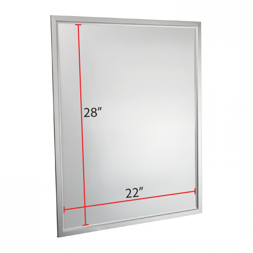 22 x 28 Slide-in Poster Frame - Silver - Buy Acrylic Displays | Shop ...