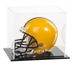 acrylic football mini helmet display case