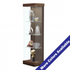 '2' Wide Lighted Wood Laminate Left Sliding Door Display Case' from the web at 'http://www.shoppopdisplays.com/mm5/graphics/00000001/12421WT_2_MC_245x245.png'