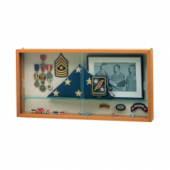 'Autumn Oak 3 Shelf Adjustable Display Case with Sliding Doors' from the web at 'http://www.shoppopdisplays.com/mm5/graphics/00000001/12430_2_245x245.png'