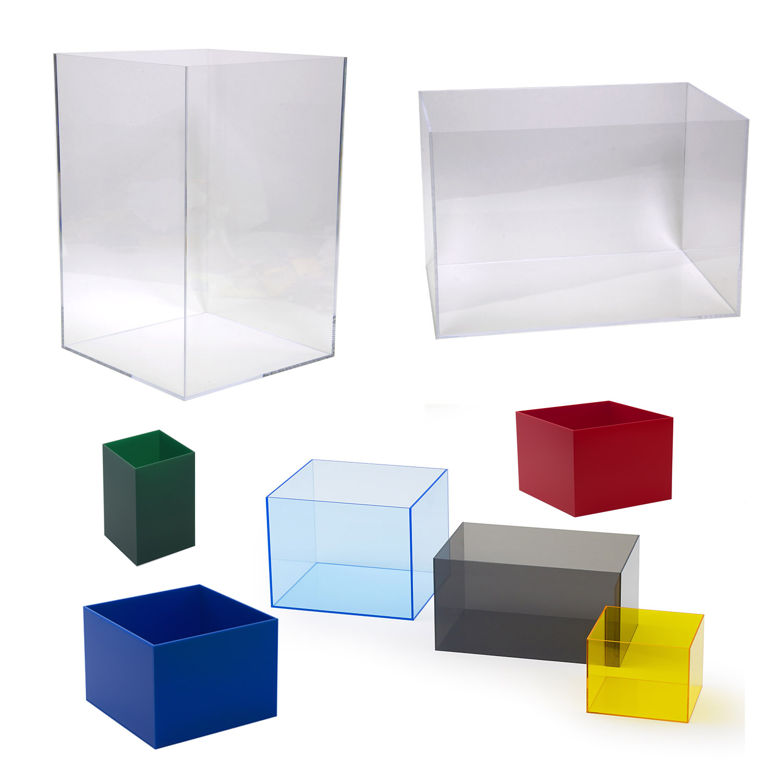 Acrylic Display Cases & Acrylic Display Boxes | Plastic Display Boxes
