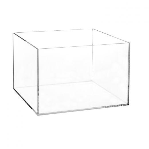 acrylic 5 sided box 8 h x 12 w x 12 l buy acrylic displays
