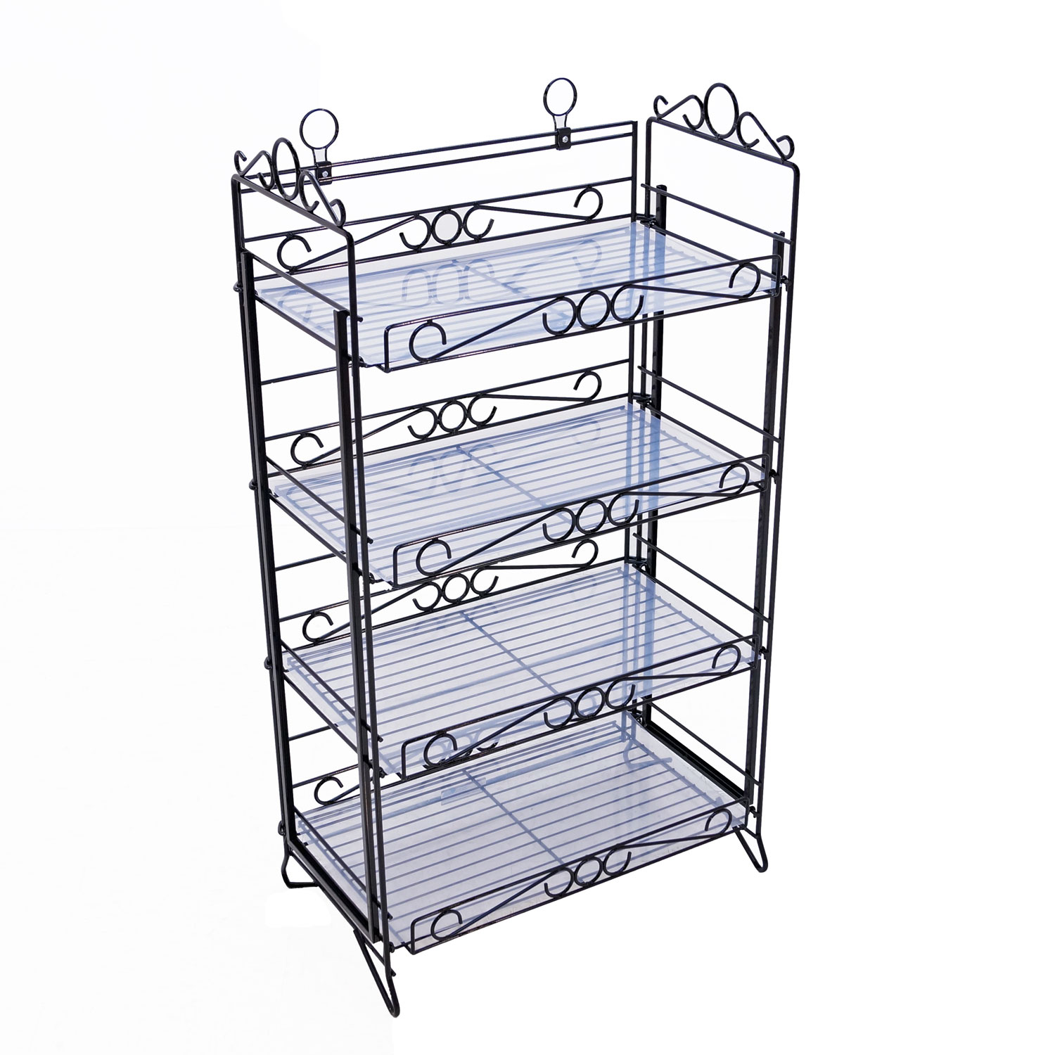 Black Portable Decorative Display Rack Buy Acrylic