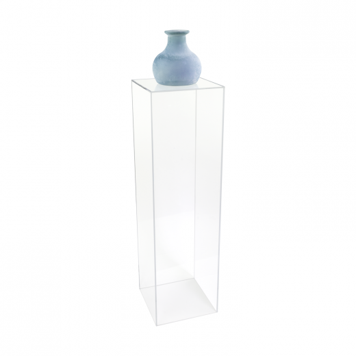 rentals acrylic led table top products furniture high public pedestal square mobile pedestals
