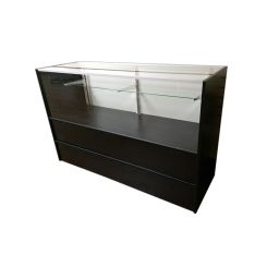 '4' Half Vision Retail Counter' from the web at 'http://www.shoppopdisplays.com/mm5/graphics/00000001/HalfVisionSCBlack_1_245x245.jpg'