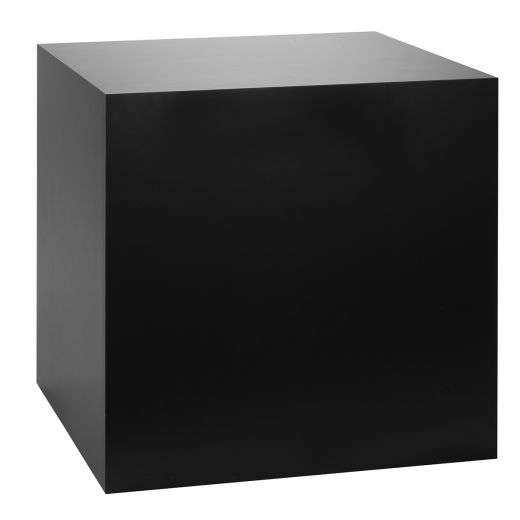 Sensational Black Laminate Cube Table Pedestal Download Free Architecture Designs Remcamadebymaigaardcom