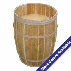 Wooden Display Barrels Retail Displays Shoppopdisplays