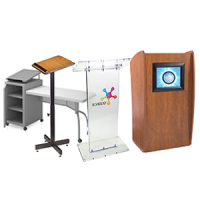 'Shop Podiums, Pulpits, And Lecterns Now' from the web at 'http://www.shoppopdisplays.com/mm5/graphics/00000001/PodiumsLecterns_2_200x200.png'