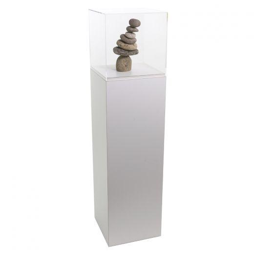 ornament of or display ebay round set stand home pedestals garden pedestal acrylic bhp sphere