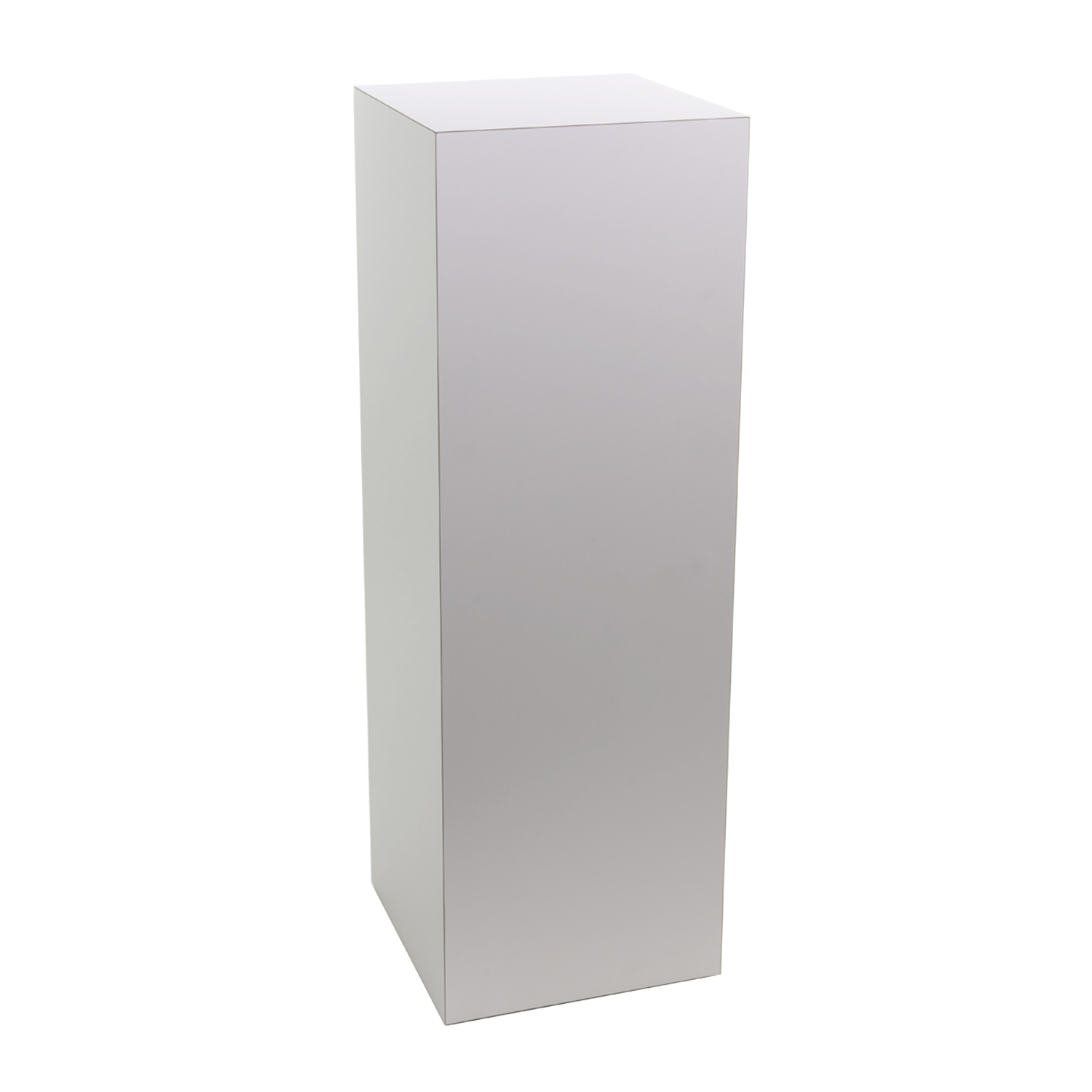 White Laminate Pedestal Buy Acrylic Displays Shop
