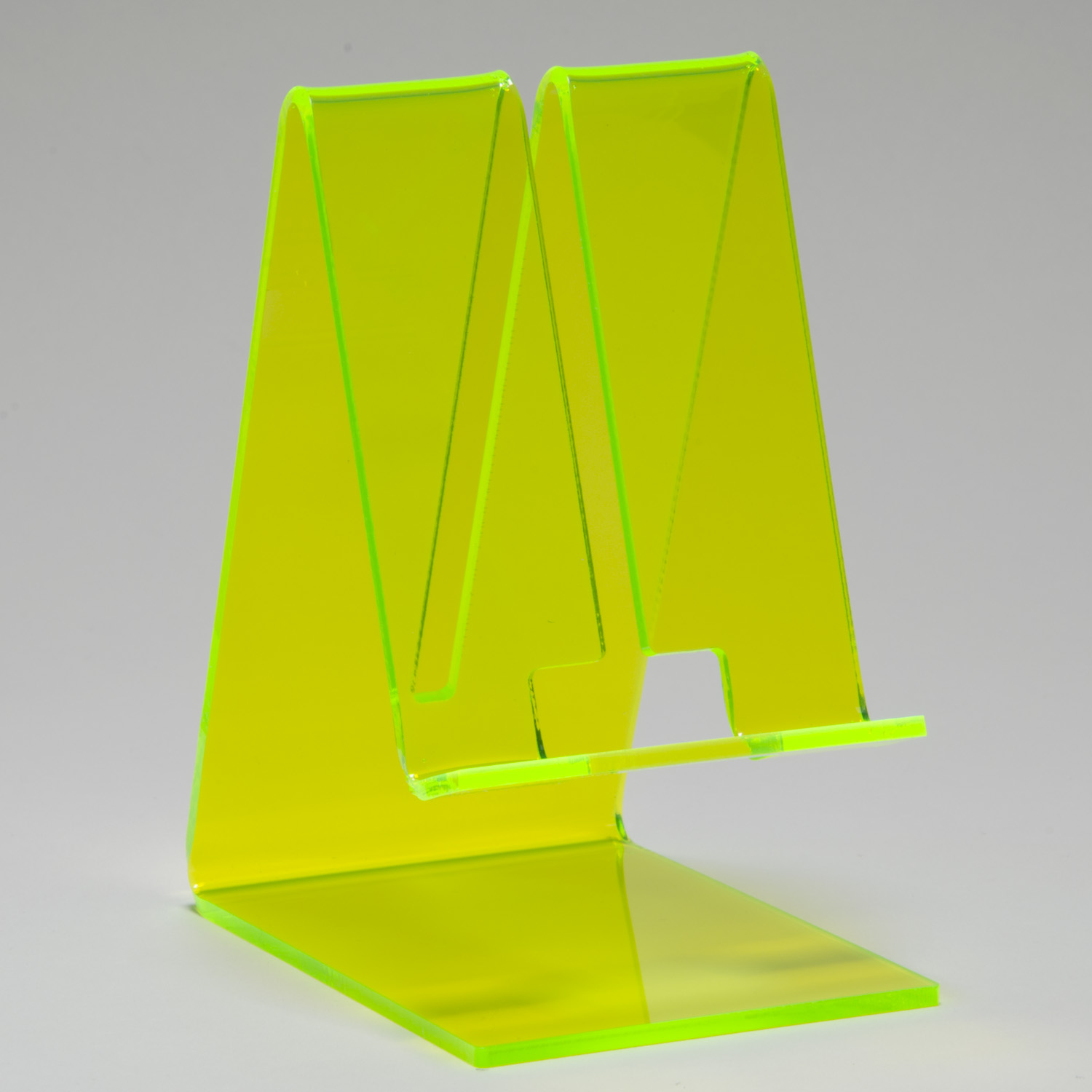 Cell Phone Stand Fluorescent Green Buy Acrylic