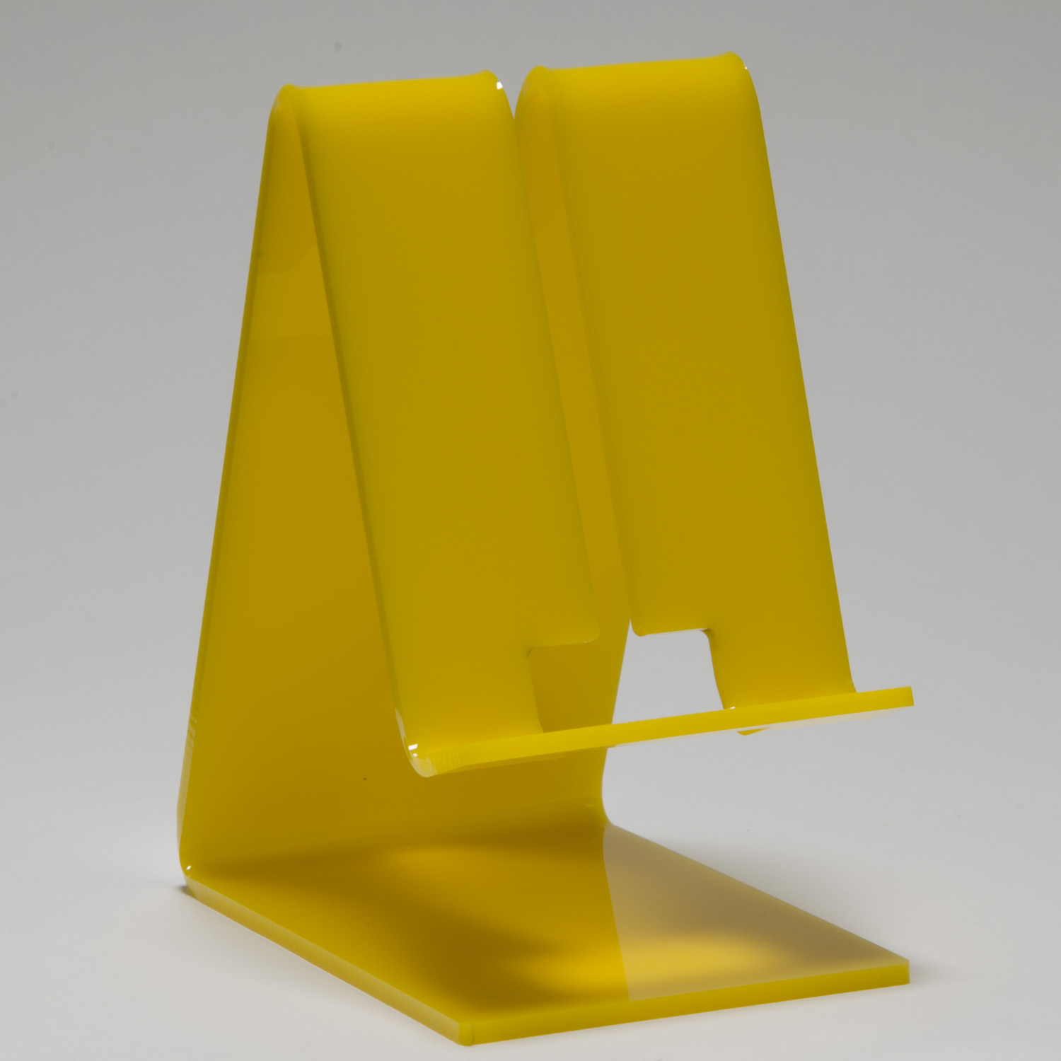 Magnetic Cell Phone Mount >> Cell Phone Stand - Yellow - Buy Acrylic Displays   Shop ...