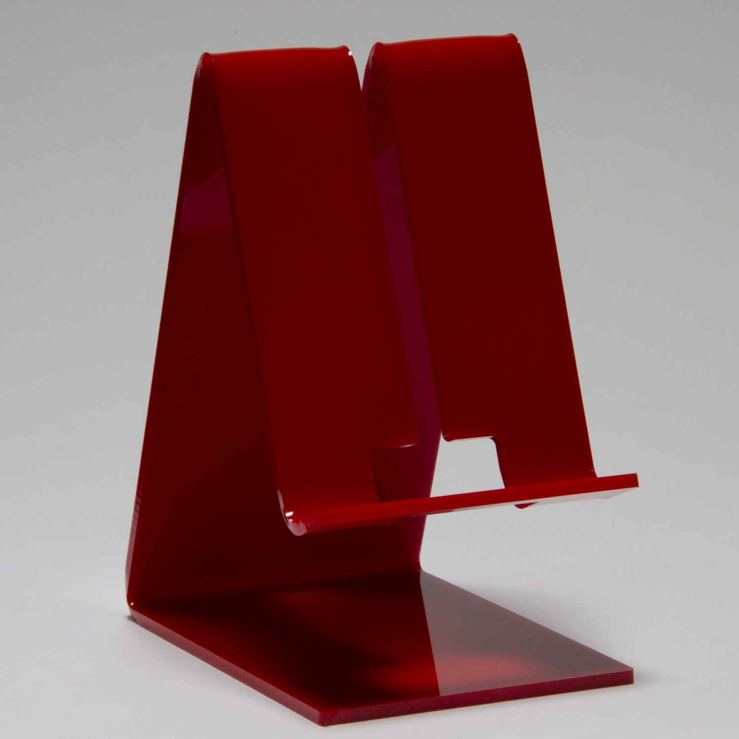 Cell Phone Stand Red Buy Acrylic Displays Shop