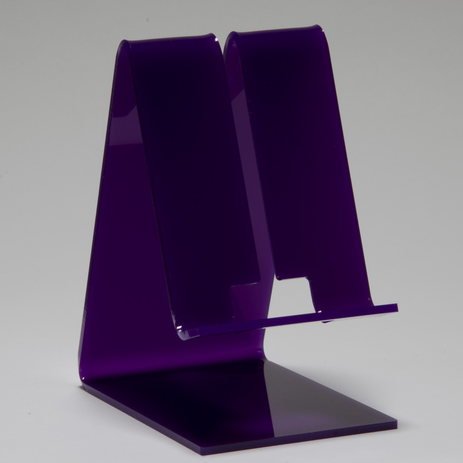 Cell Phone Stand Violet Buy Acrylic Displays Shop