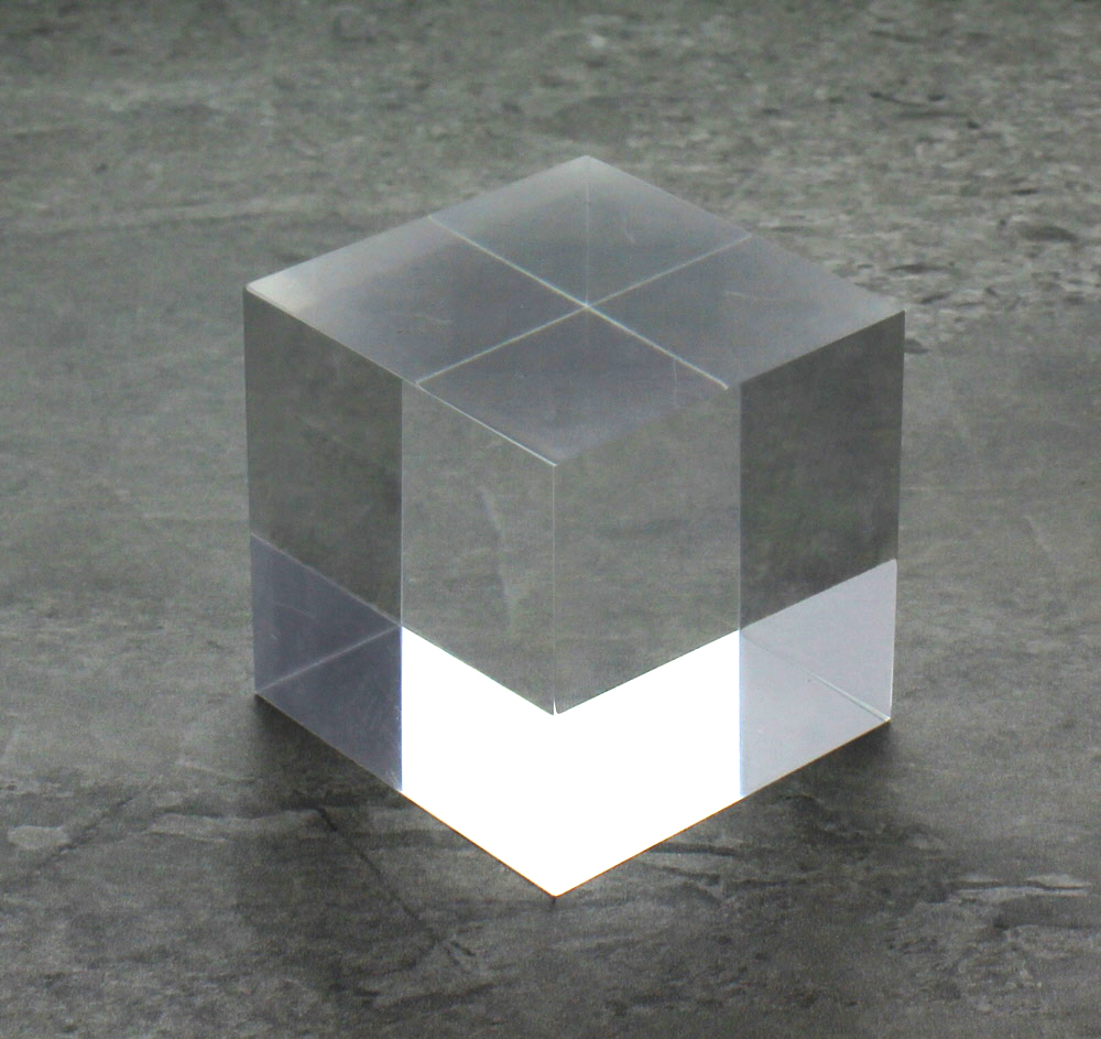 Clear Solid Acrylic Block 3 X 3 X 3 Buy Acrylic