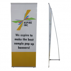 """'31.5""""W Display Banner with L Frame Single Sided Custom Print' from the web at 'http://www.shoppopdisplays.com/mm5/graphics/00000001/single-sided-l-banner_245x245.png'"""